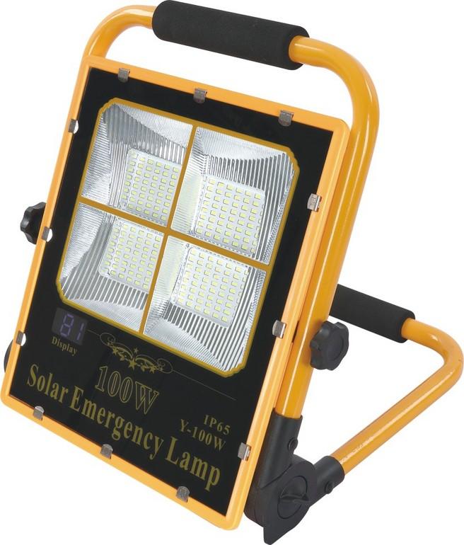 户外防水太阳能路灯投光灯
