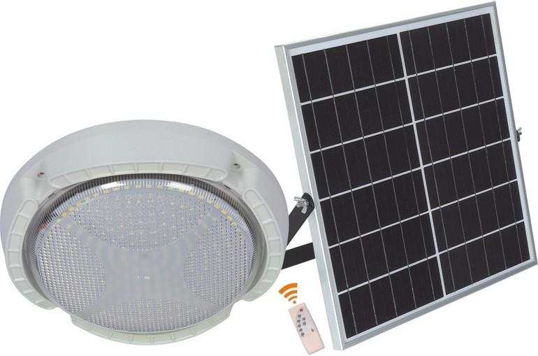 圆形环保防水太阳能投光灯