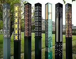 多款中式复古草坪灯路灯
