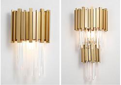 现代轻奢水晶壁灯