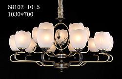 艾威尔全铜新中、小美、现代吊灯