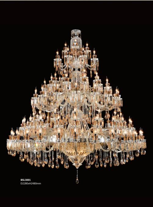 保时利新款欧式客厅水晶灯