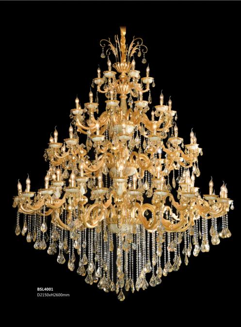 保时利高档欧式奢华水晶灯