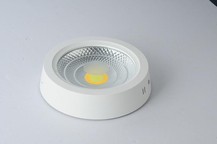 观亮COB明装筒灯