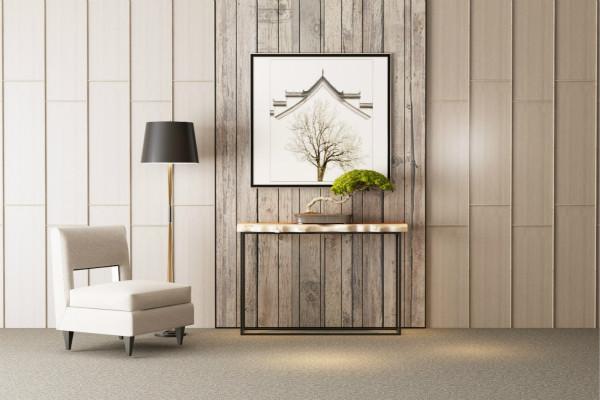 实木落地灯在家装中应用越来越广泛
