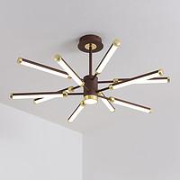 厂家供应新款北欧后现代客厅卧室吊灯家装亚克力线条LED灯具