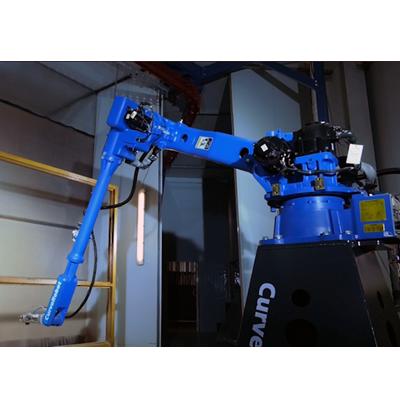 曲线智能3D喷涂机器人