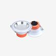 圣亨橙白色筒燈