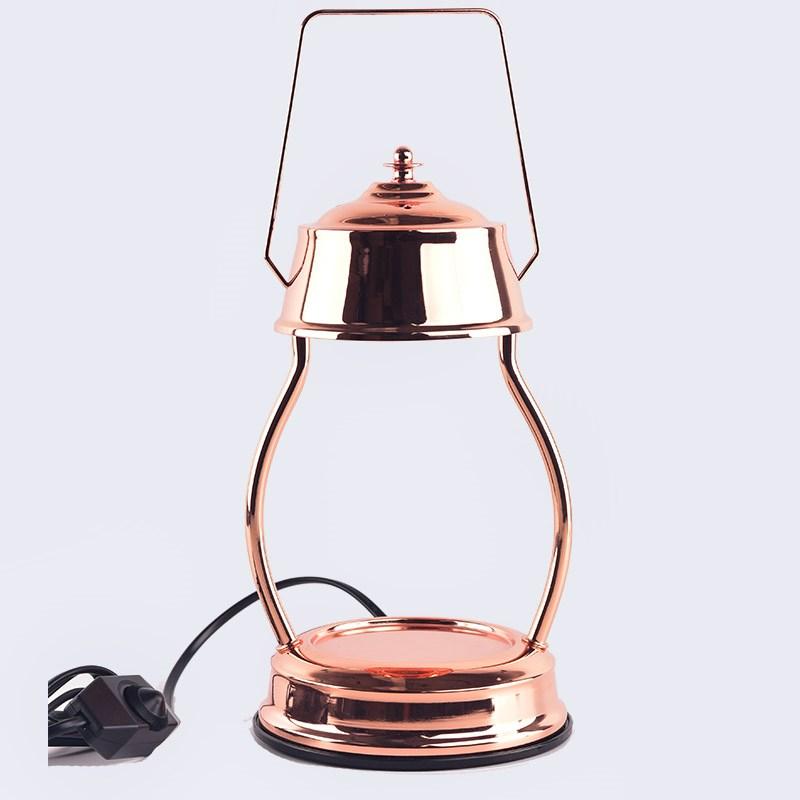 韩国复古热熔融化香薰灯融蜡灯融腊香氛炉溶烛马灯调光床头台灯