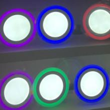 LED装饰双色面板灯