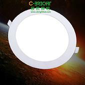 超薄圆形3W2.5寸LED面板灯