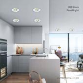 厨房COB玻璃平板灯