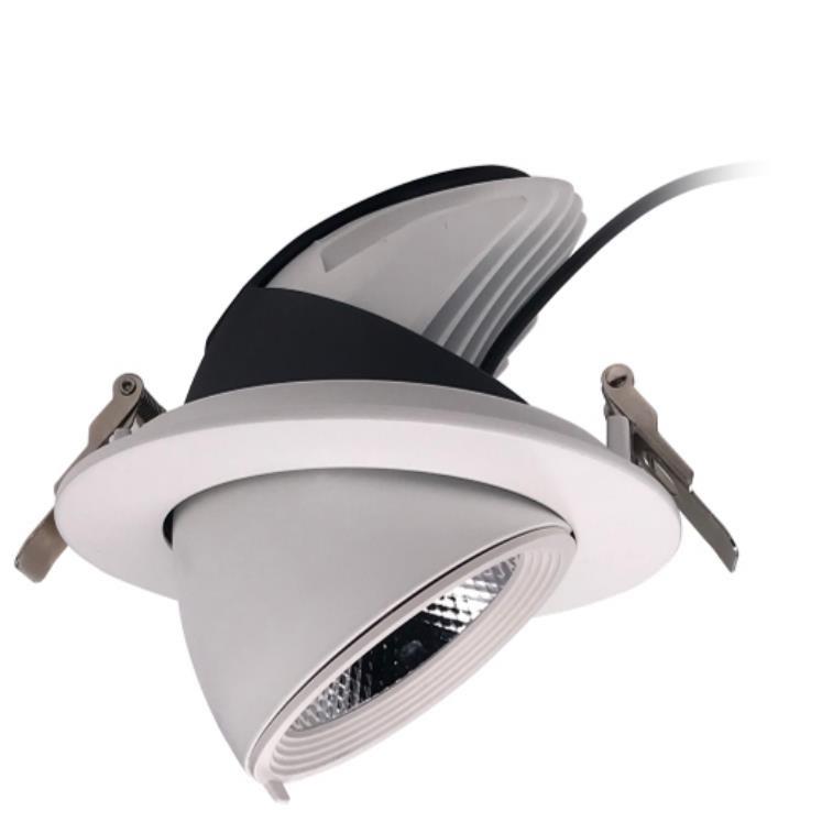 led嵌入式北欧象鼻灯筒灯