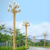 景观玉兰钢质路灯