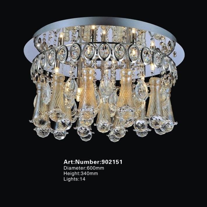 别墅水晶现代吸顶灯