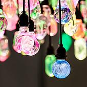 户外高亮唯美公园草坪装饰球泡灯