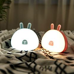 萌兔多功能照明小台灯