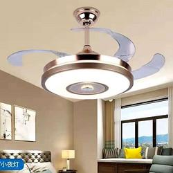 室内高亮客厅LED变频风扇灯