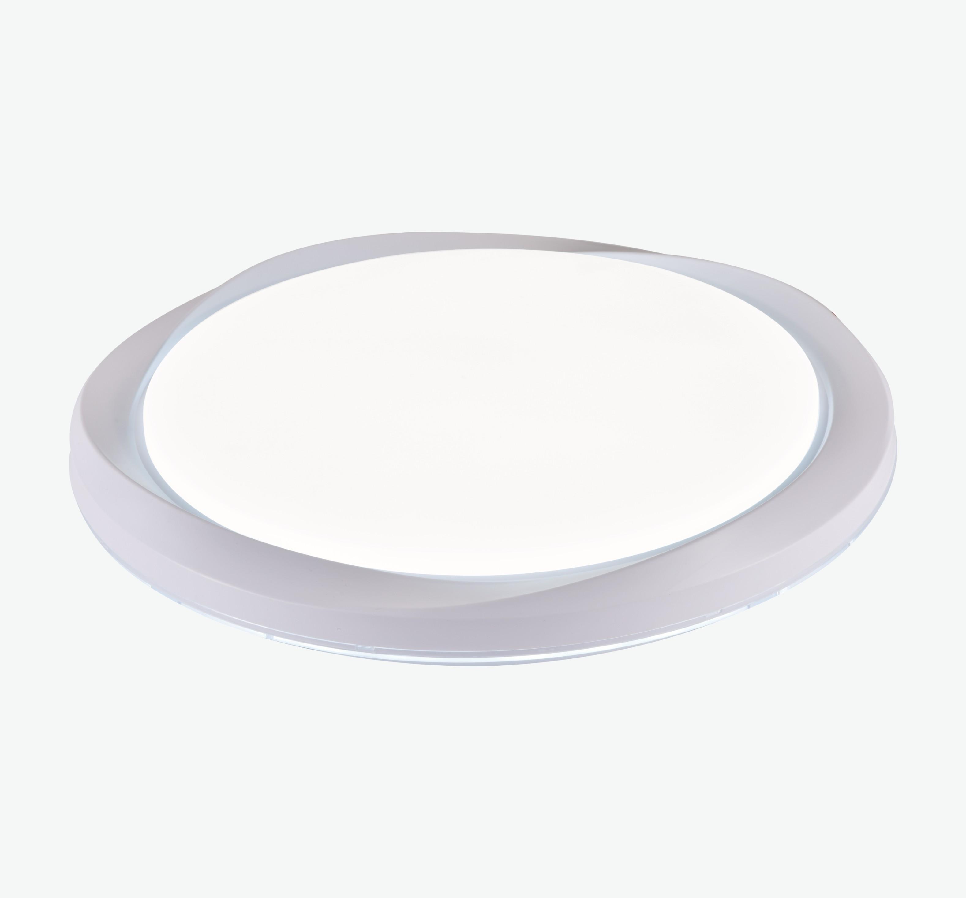 LED现代简约圆形花瓣形外圈吸顶灯