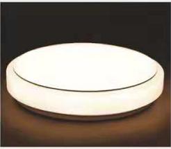 LED室内客厅家用圆形凸面吸顶灯