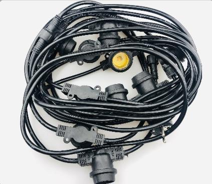 LED复古户外爆款防水圣诞灯灯串