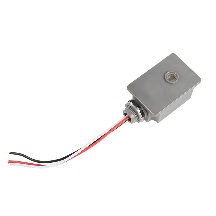 UL认证120-277V防水型路灯光控开关热式光控器