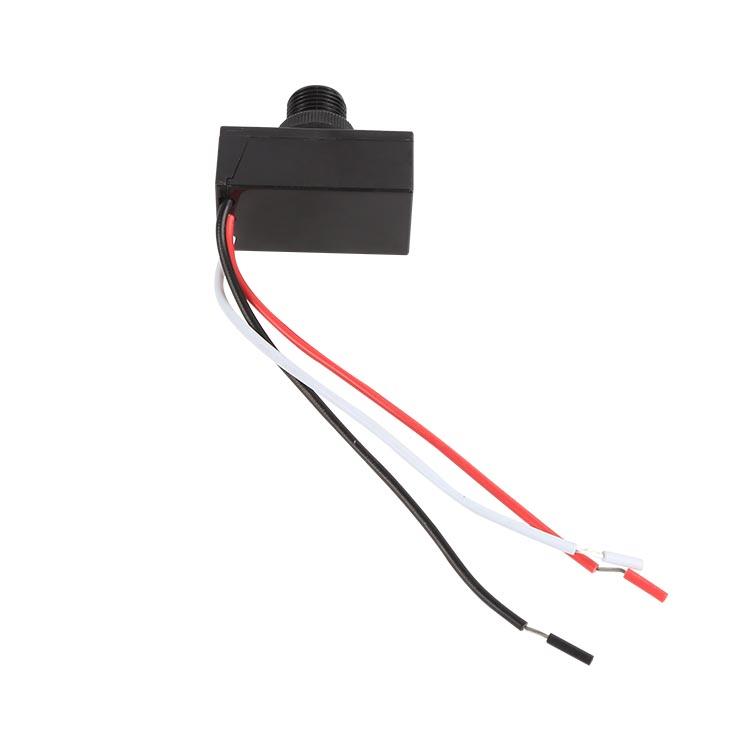 UL&ANSI 美标认证电子式宽压光感控制原理光控器 接线式光控开关
